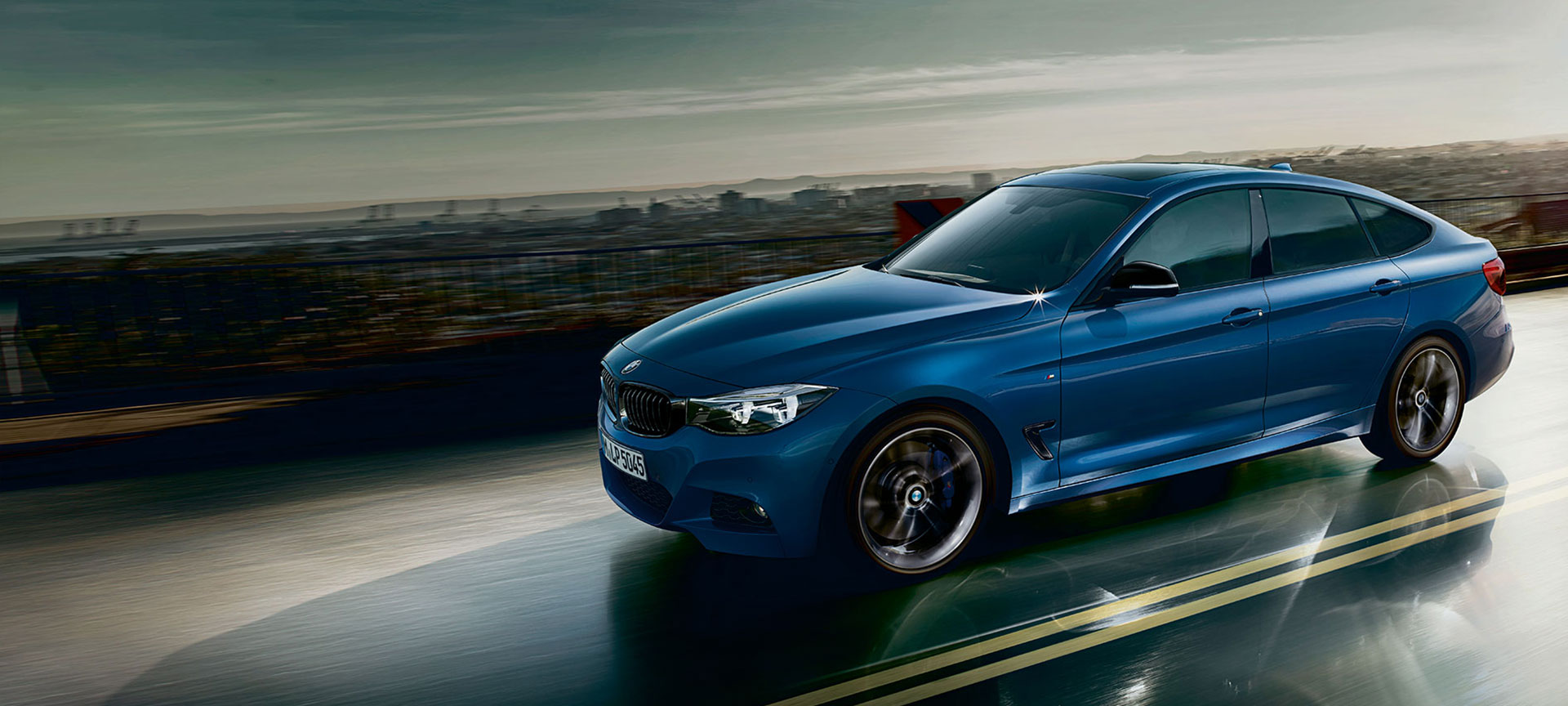 The BMW 3 GT